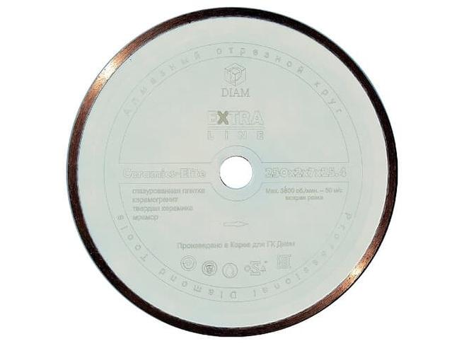 DIAM CERAMICS-ELITE 000548 алмазный круг для керамики 230мм Diam По керамике Алмазные диски